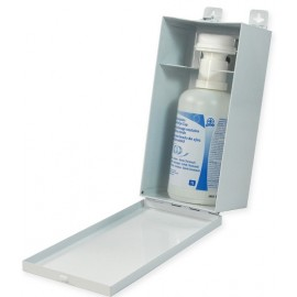 Eyewash Cabinet: metal w/ 1L solution