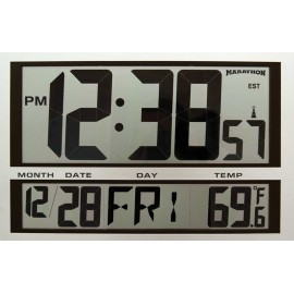 Marathon Jumbo Atomic Wall Clock