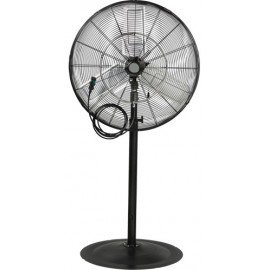 MISTING & OSCILLATING PEDESTAL FAN
