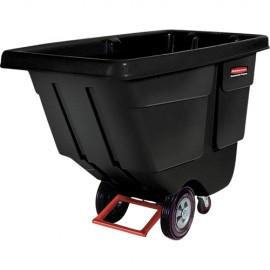 """Rubbermaid Polyethylene Tilt Truck: 43.75""""H X 33.5""""W X 72.25""""L"""