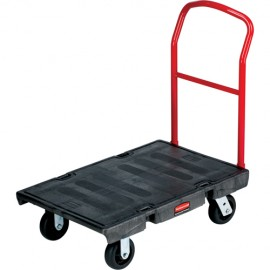 "Rubbermaid Heavy-Duty Platform Truck: 42""H X 24""W X 48""L"