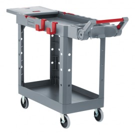 "Rubbermaid Heavy-Duty Adaptable Utility Cart: 36""H X 17-3/4""W X 46-1/5""D"