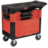 Rubbermaid Trades Cart With Lockable Cabinet