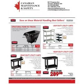 Rubbermaid & Kleton Material Handling Promotion