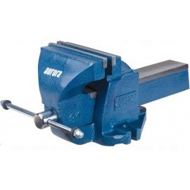 "Bench Vise: 8"" heavy duty, fixed base"