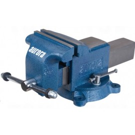 "Bench Vise: 6"" jaws, heavy duty swivel base"
