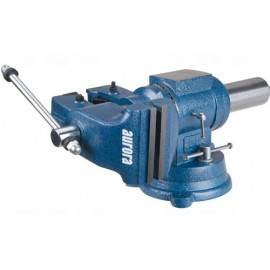 "Bench Vise: multi-purpose 5"" jaws, swivel base"