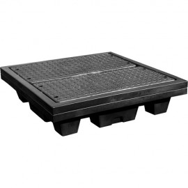 Nestable Spill Pallet - 4 Drum with Drain