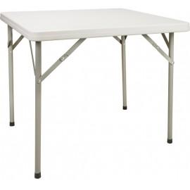 "Table: 34"" Polyethene, Folding"