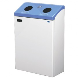 Wall Mounted Recycling Stations: 29 gal.