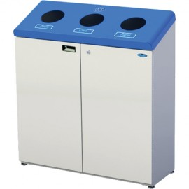 Wall Mounted Recycling Station: 42 gal.