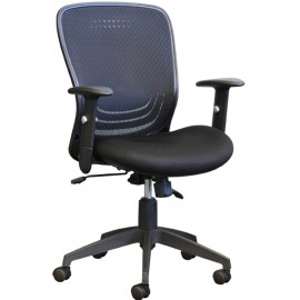 Horizon Activ Mid-Back Mesh Syncro-Tilter Office Chair