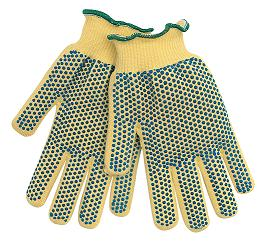 Kevlar Knit PVC Dotted Glove