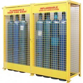 Gas Cylinder Cabinet: 20 Cylinder