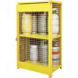 Gas Cylinder Cabinet: 12 Cylinder