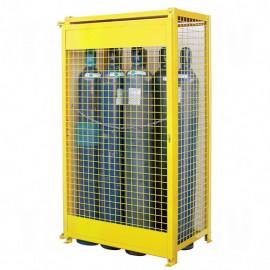 Gas Cylinder Cabinet: 10 Cylinder