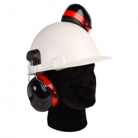 Dynamic Safety Cap-Mounted Earmuffs