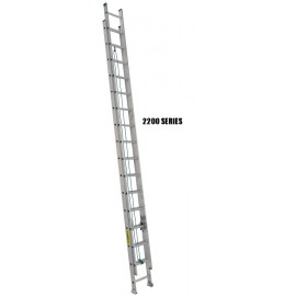 Extension Ladder: Aluminum, Medium Duty