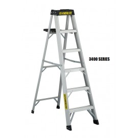 Step Ladder: Aluminum, Heavy Duty
