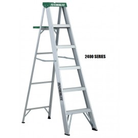 Step Ladder: Aluminum, Medium Duty