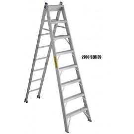 Step Ladder: Aluminum 3-Way, Heavy Duty
