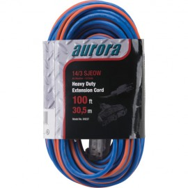 Extension Cord: 14 All Weather TPE-Rubber 100'