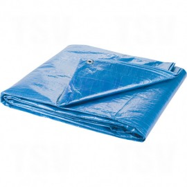 Standard Duty Polyethylene Tarpaulin: 20'L x 10'W