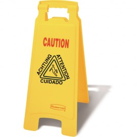 Rubbermaid Caution Safety Sign