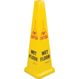 Caution Wet Floor Traffic Cone