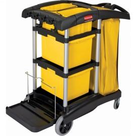 Rubbermiad Microfibre Janitor Cart