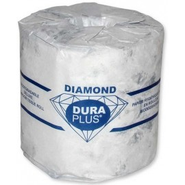 Dura Plus Diamond Bath Tissue: 1 ply, 1000 sheet
