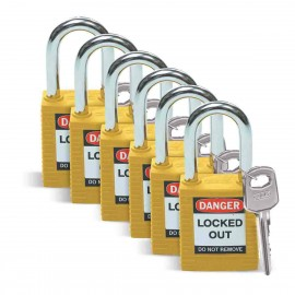Safety Padlocks - Keyed Alike