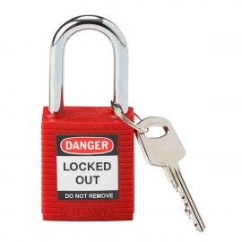 Safety Padlocks - Keyed Different