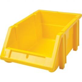 Plastic Bin: Hi-Stak, Yellow