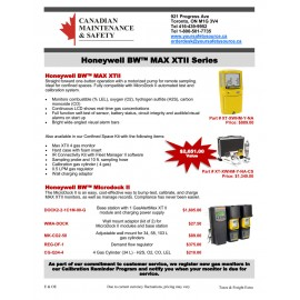 BW Gas Detection Flyer