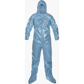 Pyrolon 0.5 Mil CRFR Coveralls: Hood & Boots