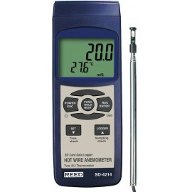 REED Data Logging Hot Wire Thermo-Anemometer