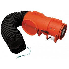 Allegro 8″ Com-Pax-Ial Explosion-Proof Blower, 15' Ducting