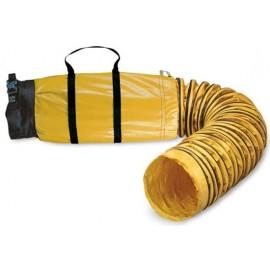 "Sto-Sack: 8""x25' Standar Ducting w/ Bag"