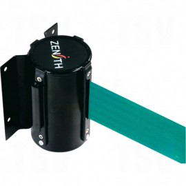 Crowd Control Barriers - Green Wall Mount