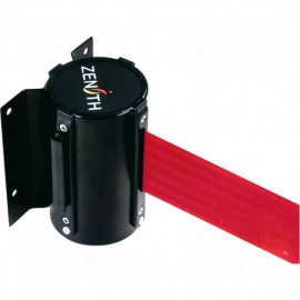 Crowd Control Barriers: 12' Red Wall Mount