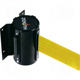 Crowd Control Barriers: 12' Yellow Wall Mount