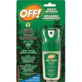 OFF! Deep Woods Insect Spray: 30 ml