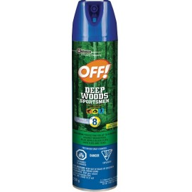 OFF! Deep Woods Sportsman Insect Spray: 100 ml