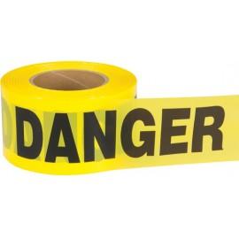 """Barricade Tape: """"DANGER"""" 2.5 mil"""