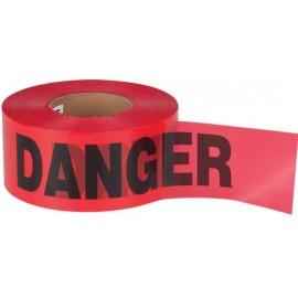 """Barricade Tape: """"DANGER"""" 1.5 mil"""