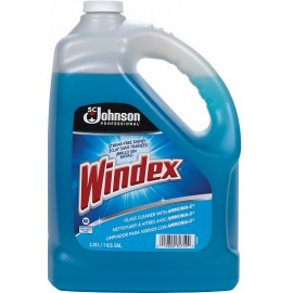 Windex w/ Ammonia-D: 3.8 litre, ready to use
