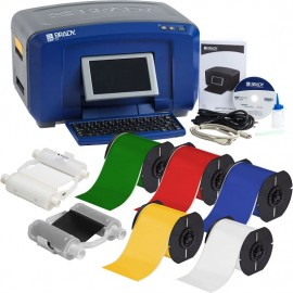 BBP37 Primary Color Label and Printer Kit