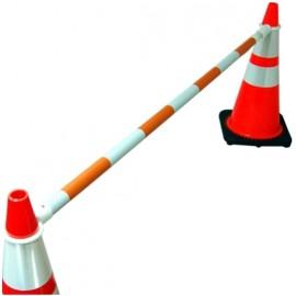 Traffic Cone Barrier Bar