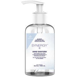 Synergy Liquid Hand Sanitizer: 500 mL, 80% alcohol